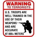 Warning To Terrorists