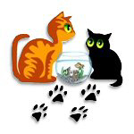 Adorable cats & a fish bowl t-shirts and gifts!