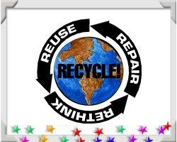 Recycling For Earth Day and Every Day!
