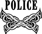 Police Tattoo Apparel and Gift Ideas