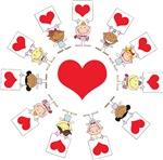 Hearts Around The World