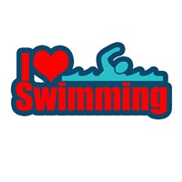 I love swimming t-shirts and gifts