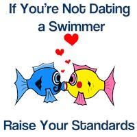 Dating a Swimmer  t-shirts & gift