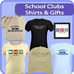 School Clubs Shirts & Gifts