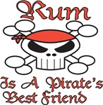 Rum is a Pirate's BF!