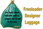 Freeloader Plastic Garbage Bag Luggage