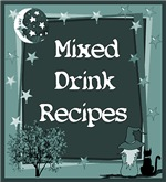 MIXED DRINK RECIPES/BARTENDER GIFTS/BAR DECORATION
