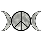 Triple Goddess Peace Sign