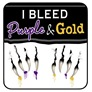 I Bleed Purple & Gold
