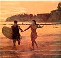 Vintage Surf and Beach Art