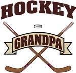 Hockey Grandpa T-Shirts Gifts