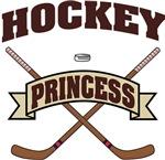Hockey Princess T-Shirts Gifts