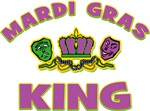 Mardi Gras King T-Shirts & Gifts