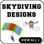 Sky Diving T-Shirt Sky Diving T-Shirts Sky dive