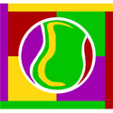 Abstract Tennis T-Shirt & Gift Items