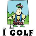 I Golf T-Shirt & Gifts