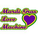 Mardi Gras Love Machine T-Shirt