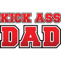 KICK ASS DAD T-SHIRT