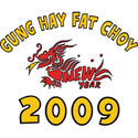GUNG HAY FAT CHOY T-SHIRTS