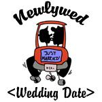 Newlywed (Add Your Wedding Date) T-Shirts