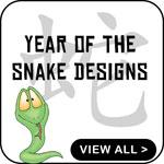 Year of The Snake T-Shirts Chinese Snake T-Shirt
