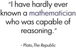 Plato on Mathematicians