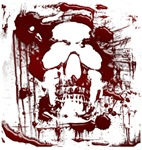 Blood Skull #2