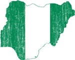 Nigeria Flag And Map