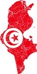 Tunisia Flag And Map