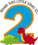 Dinosaur 2nd Birthday