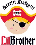 Blonde Hair Pirate Little Brother