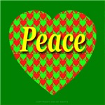 Peace Xmas Heart of Hearts