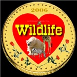 WILDLIFE Illuminated Gold Coin