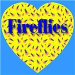 Firefly Heart Lemon Yellow