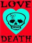 Death of Love Heart Red Hot