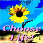 Choose Life Baby Girl Pink
