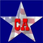 CA Patriotic State Star