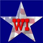 WI Patriotic State Star