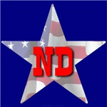 ND Patriotic State Star