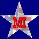 MI Patriotic State Star