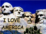 Mt. Rushmore I Love America