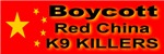 Boycott Red China Dog Genocide