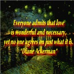 What Is Love Diane Ackerman