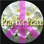 Pray For Peace Angelic Flowers