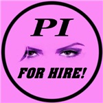 PI For Hire Pretty In Pink