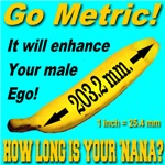 Go Metric! How Long Is Your 'Nana?
