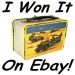 I Won It On Ebay Military Lunch Box