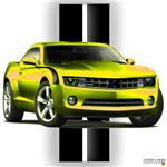 New Camaro Yellow