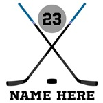 Hockey Name Customized