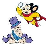 Mighty Mouse Happy New Year